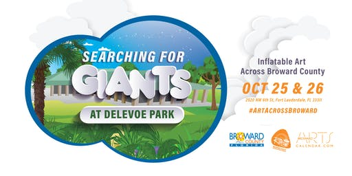 Searching For Giants: Inflatable Art at Delevoe Park (final location)