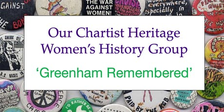 Greenham Remembered tickets