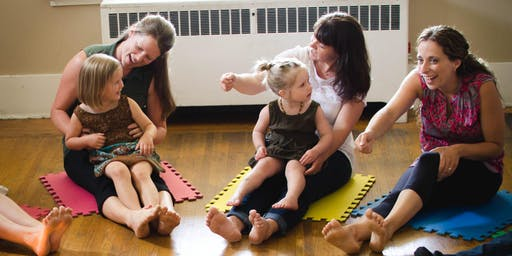 Parent Child Mother Goose - John Tod YMCA/YWCA (Pre-walker group)