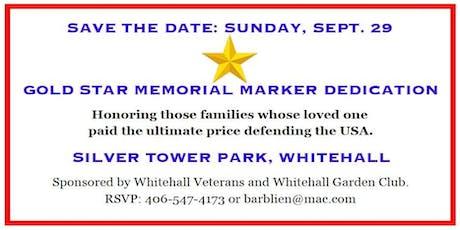 Gold Star Memorial Dedication tickets