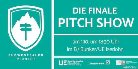 Südwestfalen Pionier - Die finale Pitch Show Tickets