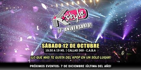 K-style 7° Aniversario ¡Lo que más te gusta del KPOP en un solo  lugar! tickets