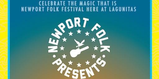 "Live at Lagunitas: Newport Folk Presents ® ""Folkin' Friends"""