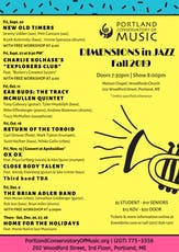 Return Of The Toroid  | Dimensions in Jazz Concert tickets
