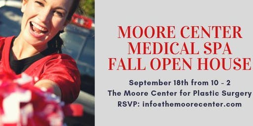 Moore Center Fall Open House