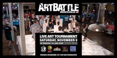 Art Battle Wichita Falls - November 9, 2019 tickets