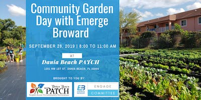Community Garden Day with Emerge Broward