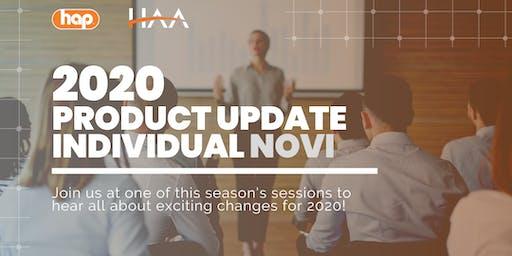 HAP Agent Training with HAA: Individual 2020 Product Update - NOVI
