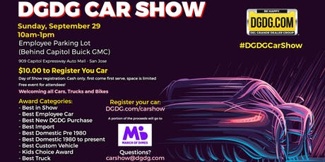 DGDG Car and Bike Show tickets