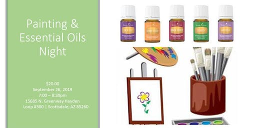 Painting & Essential Oils Night