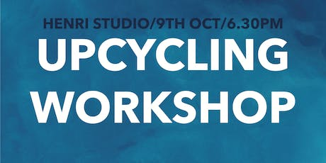 Agnes LDN Upcycling Workshop tickets