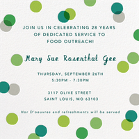 Mary Sue Rosenthal Gee's Retirement Celebration!
