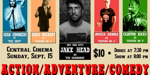 Action/Adventure/Comedy with Jake Head!
