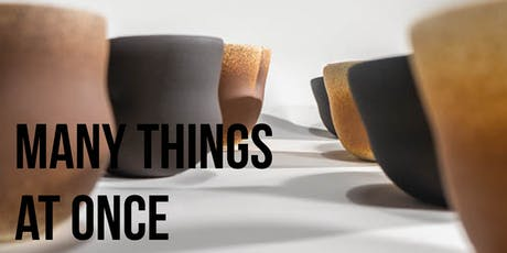 Many Things at Once - Exhibition Reception tickets