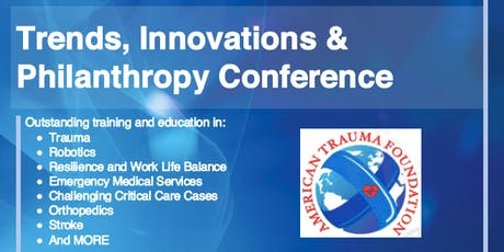 Trends, Innovations and Philanthropy Conference tickets
