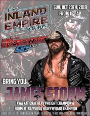 The Cowboy James Storm Meet & Greet tickets