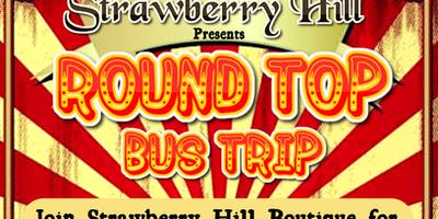 Round Top Bus Trip by Strawberry Hill Boutique