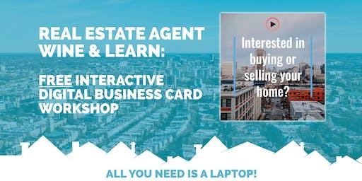 Wine & Learn: Real Estate Agent Digital Business Card Workshop