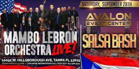 Mambo Lebron Orchestra Salsa Bash! tickets