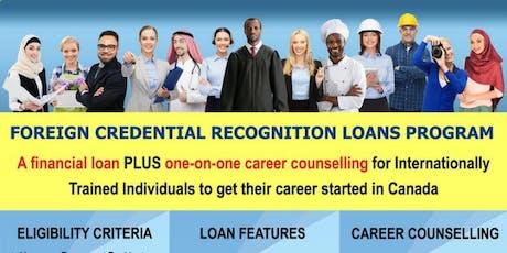 Newcomer Loans Program tickets