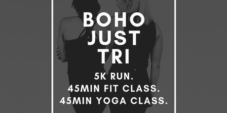 BOHO Just Tri tickets