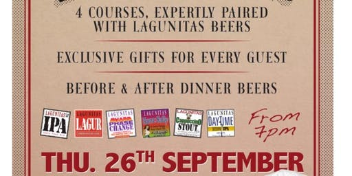Lagunitas Beer Dinner @ The Rooftop Gardens