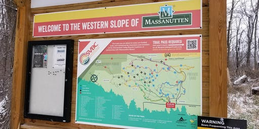 Daily Trail Pass for Massanutten, VA Western Slope (Fall 2019)