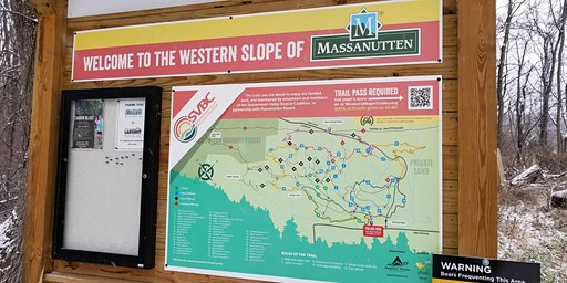Daily Trail Pass for Massanutten, VA Western Slope (Fall 2019)