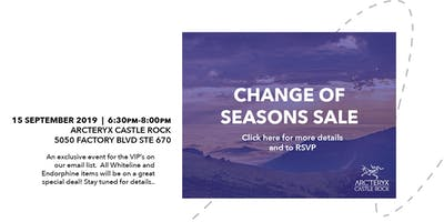 Change of Seasons VIP Sale