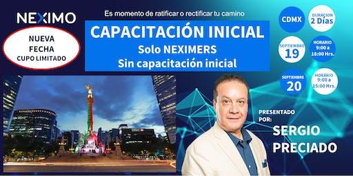 CAPACITACIÓN INICIAL CDMX