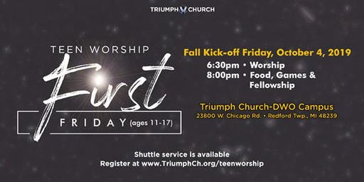 Triumph's 1st Friday Teen Worship