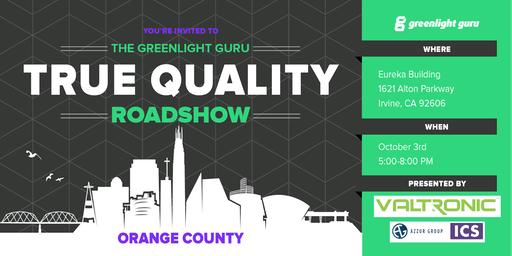 The True Quality Roadshow - Orange County