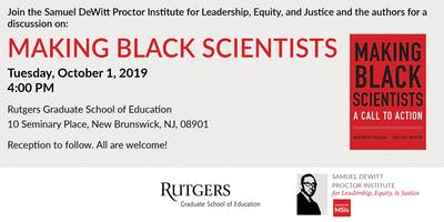 Making Black Scientists Book Talk
