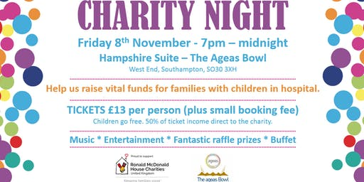 Ronald McDonald House Charity Night