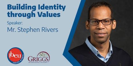 Palestra com diretor da Griggs - Building Identity Through Values ingressos