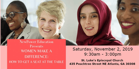Women Make a Difference: How to Get a Seat at the Table tickets