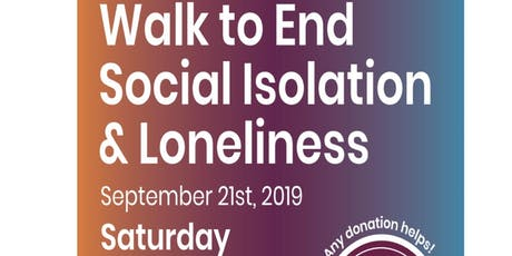 2019 Walk to End Isolation tickets