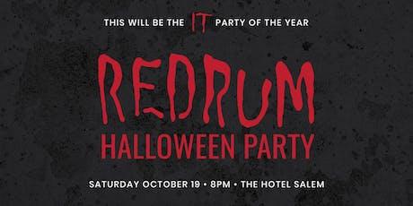 REDRUM HALLOWEEN PARTY tickets