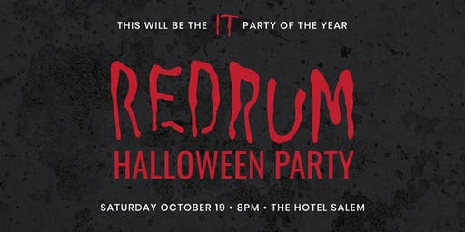 REDRUM HALLOWEEN PARTY