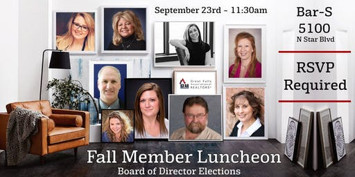 Fall Member Luncheon