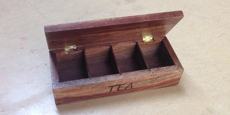 Intro to Woodworking: Divided Boxes tickets
