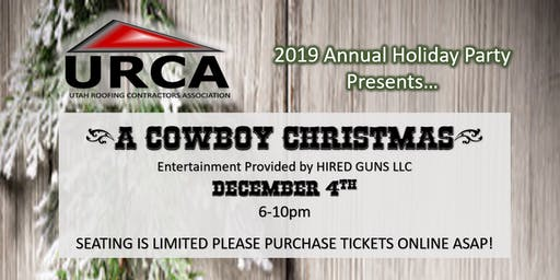 URCA  2019 Holiday Party- A  Cowboy Christmas