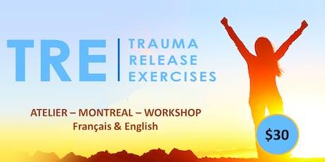 Libérer les traumas du corps - Méthode TRE  (Trauma Release Exercices) tickets
