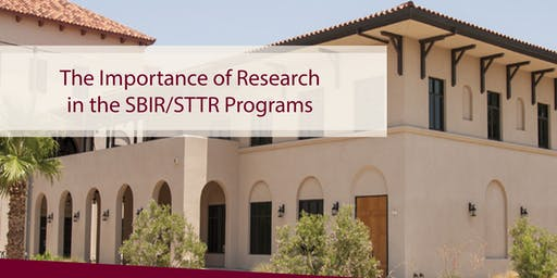 The Importance of Research in the SBIR/STTR Programs