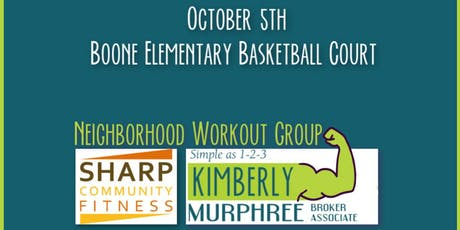 FREE + FUN Neighborhood Workout Group tickets