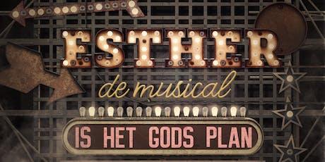 Premiere Esther de musical tickets