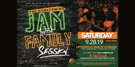 Pre-Homecoming JAM with FAMULY Session tickets