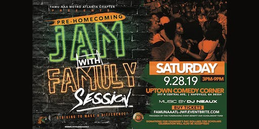 Pre-Homecoming JAM with FAMULY Session