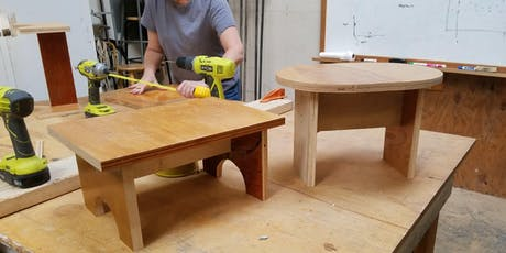 Intro to Carpentry: Step Stool tickets