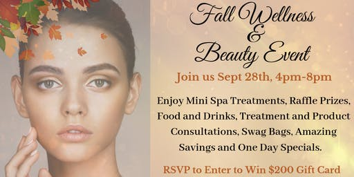 Fall Wellness and Beauty Event